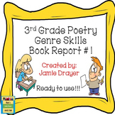 3rd Grade Poetry Review Trifold Activity #1