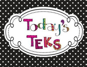 "3rd Grade Polka Dot Themed Social Studies TEKS ""I Can"" Posters"