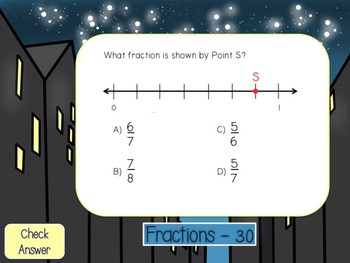 3rd Grade Powerpoint Math Review Game #4