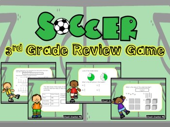 3rd Grade Powerpoint Math Review Game #6