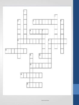 3rd Grade Prefix Crossword Puzzle