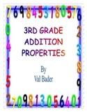 3rd Grade Properties of Addition