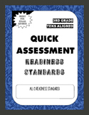 BUNDLE 3rd Grade Math Quick Assessments - ALL Readiness St