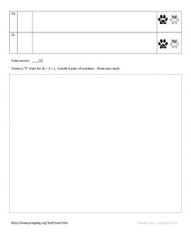 3rd Grade RIT Math Worksheets - Basic, Proficient, Advanced