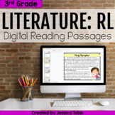 3rd Grade RL Literature Digital Passages- For Distance Learning
