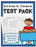 3rd Grade RL Standards Test Pack {RL 3.1, 3.2, 3.3, 3.4, 3.5, 3.6, 3.7, 3.9}