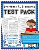 3rd Grade RL Standards Test Pack {RL 3.1, 3.2, 3.3, 3.4, 3