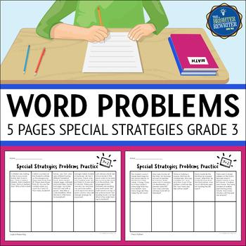 Word Problems 3rd Grade