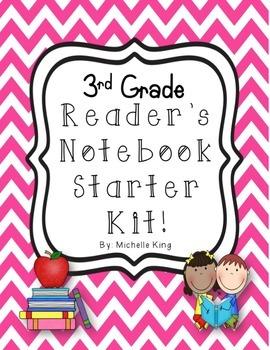 3rd Grade Reader's Notebook Starter Kit