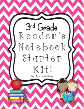 3rd Grade Reader's Notebook Starter Kit