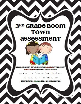 3rd Grade Reading Assessment: Boom Town by Sonia Levitin