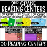 3rd Grade Reading Centers and Games