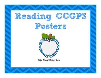 3rd Grade Reading Common Core Standards Posters (Georgia CCGPS)