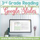 3rd Grade Reading Comprehension Fluency Passages Distance Learning GOOGLE SLIDES