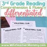 3rd Grade Reading Comprehension Fluency Passages PRINTABLE