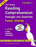 3rd Grade Reading Comprehension - Funny Stories Volume 2