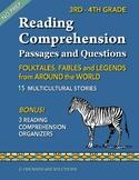 3rd Grade Reading Comprehension - Folktales and Legends fr