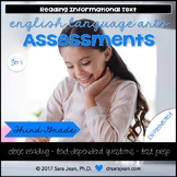 3rd Grade • Reading Comprehension Passages and Questions • RL I & II • Set 5