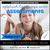 3rd Grade • Reading Comprehension Passages and Questions • RL I • Set 2