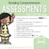 3rd Grade Reading Comprehension Tests Digital Classroom