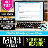 3rd Grade Reading Distance Learning May Week 1 | Google Ap