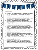 3rd Grade Reading ELA Standards list