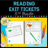 3rd Grade Reading Exit Tickets