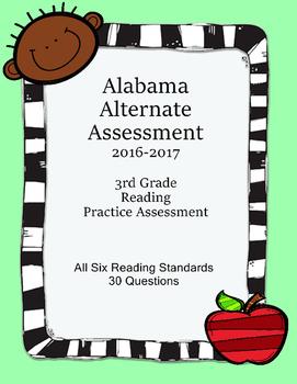 3rd Grade Reading Extended Standards Practice Test Alabama Alternate Assessment