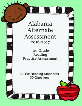 3rd Grade Reading Extended Standards Practice Test Alabama