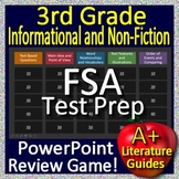 3rd Grade FSA Test Prep Reading Informational Text and Non-Fiction Review Game