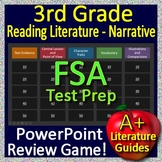 3rd Grade FSA Test Prep Reading Literature and Narrative Review Game