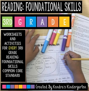 3rd Grade Reading: Foundational Skills Packet
