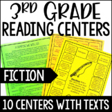3rd Grade Reading Games | 10 Fiction Reading Centers