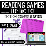 3rd Grade Reading Games | Fiction Tic-Tac-Toe *with Digita