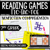 3rd Grade Reading Games | Nonfiction Tic-Tac-Toe *with Dig