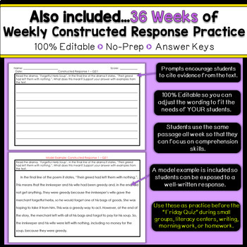 3rd Grade Reading Homework 3rd Grade Morning Work Reading Comprehension Passages