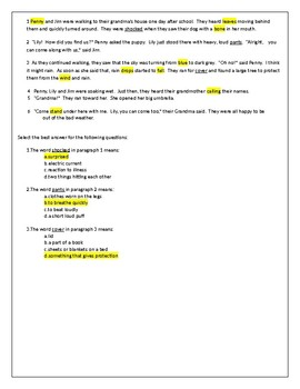 Homographs Multiple Meaning Words Lesson Reading TEKS 3.4B 3.4C