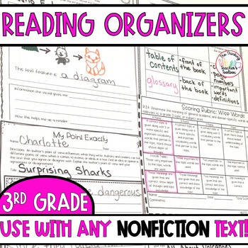 3rd Grade Reading Informational Text CCSS Formative Assessments (for ANY book)
