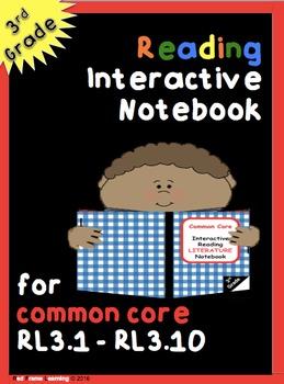 Reading Interactive Notebook (LITERATURE 3rd Grade)