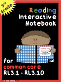 Reading Interactive Notebook (LITERATURE 3rd Grade)