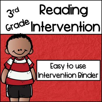 3rd Grade Reading Intervention Binder