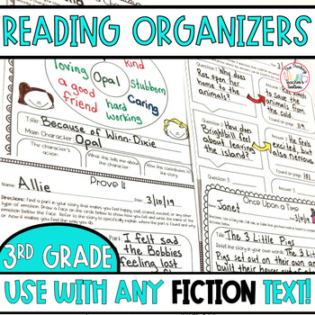 3rd Grade Reading Literature CCSS Formative Assessments (for ANY book)