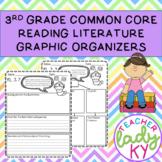 3rd Grade Reading Literature Common Core Graphic Organizers