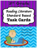 3rd Grade Reading Literature Task Cards-Common Core Aligned