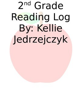 2nd Grade Reading Log