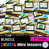 3rd Grade Reading Mini Lessons Bundle - Google Slides & Seesaw Distance Learning
