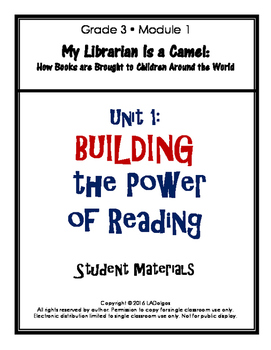 3rd Grade Reading Module 1 Printables: Unit 2