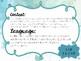 3rd Grade Reading Objectives TEKS based. Watercolor Themed