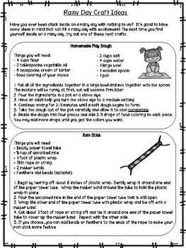 3rd Grade Reading Passage #3