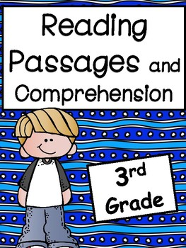 3rd Grade Reading Passages and Comprehension Passages